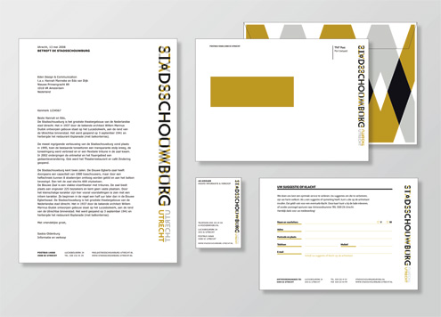 Utrecht City Theatre Visual Identity 22