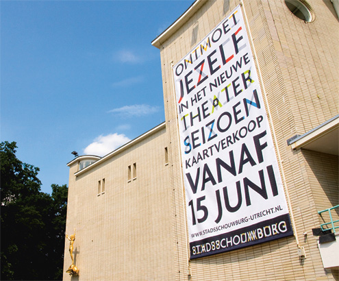 Utrecht City Theatre Visual Identity 26