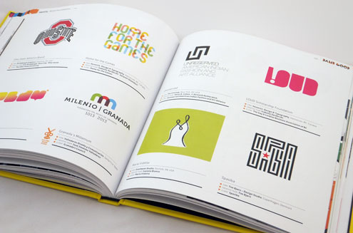 Damn Good Design Logo Spread